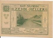 10 Heller (Etsdorf) – obverse