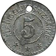 5 Pfennig - Ettenheim – reverse