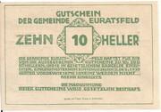 10 Heller (Euratsfeld) – reverse