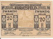 20 Heller (Euratsfeld) – obverse