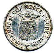 25 Centimes (Eure & Loir) – obverse