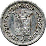 10 Centimes (Eure & Loir) – obverse