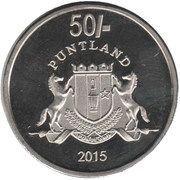 50 Shillings – obverse