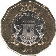 200 Shillings – obverse