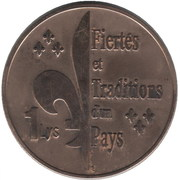 1 Lys (Saguenay 1996) – reverse
