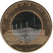 2 Dollars (100th Anniversary of the Titanic) – reverse