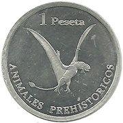 1 Peseta – obverse