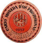 15 Centimos (Cornella de Llobregat) – obverse