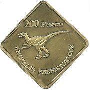 200 Pesetas – obverse