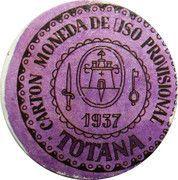 30 Centimos (Totana) – obverse