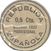 5 Centimos (Madrid) – reverse