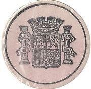 25 Centimos (Madrid) – obverse