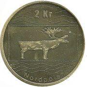 2 Kroner (Norwegian Set) – reverse