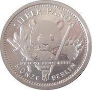 1/16 oz Silver (Silber Panda Berlin) – obverse