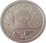 ⅛ oz Silver (Silber Panda Berlin) – obverse