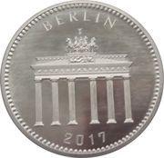 1/16 oz Silver (Silber Panda Berlin) – reverse