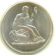 1 oz silver (Seated Liberty) – obverse