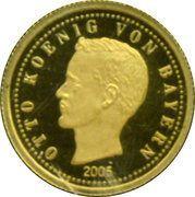 5 Dollars (Otto I, King of Bavaria) – reverse