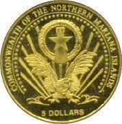 5 Dollars (Vatican Euro) – obverse