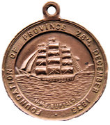 Medal - Centenary of South Australia 1836-1936 – reverse