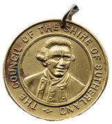 The council of the Shire of Sutherland, Captain Cook's Landing Medallion – obverse