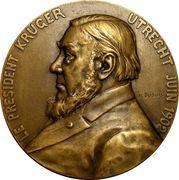 Paul Kruger - Utrecht Medal 1902 – obverse