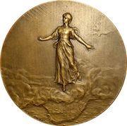 Paul Kruger - Utrecht Medal 1902 – reverse