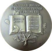 Medal - Professora Amalia Luazes – reverse