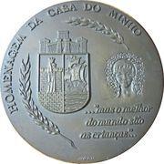 Medal - Prof. Elysio de Moura – obverse