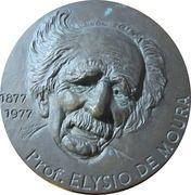 Medal - Prof. Elysio de Moura – reverse