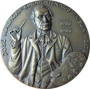 Medal - Jose Malhoa – obverse