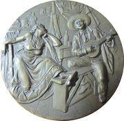 Medal - Jose Malhoa – reverse
