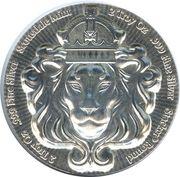 2 oz silver (Scottsdale Mint; Silver Lion) – obverse