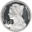 500 Francs (Marquesas Islands) – obverse