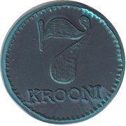 7 Krooni – reverse