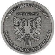 1 Vikeslandic Crown – obverse