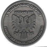 1 Vikeslandic Crown – reverse