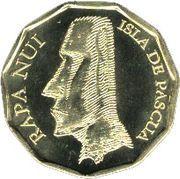 10 Pesos (Tangata Manu birdman) – obverse