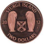2 Dollars (Sturge island) – obverse
