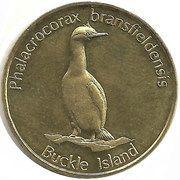 2 Dollars (Buckle island) – reverse