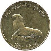 2 Dollars (Row island) – reverse