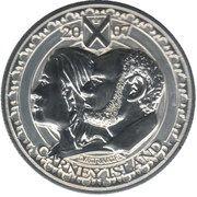 2.5 Dollars (Carney island) – obverse