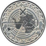 2.5 Dollars (Carney island) – reverse