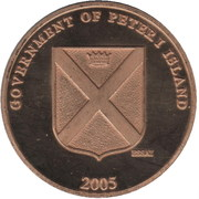 1 Dollar (Peter I Island) – obverse