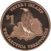 1 Dollar (Peter I Island) – reverse