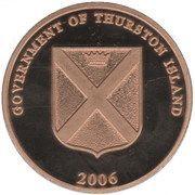1 Dollar (Thurston island) – obverse