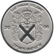1 Dollar (Sherman island) – obverse