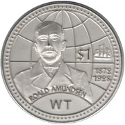 1 Dollar (Sherman island) – reverse