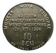 10 ECU (Bruoxella) – reverse