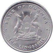 100 Lingsshil (Zodiac - Rabbit) – obverse
